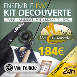 kit decouverte peche a la mouche JMC